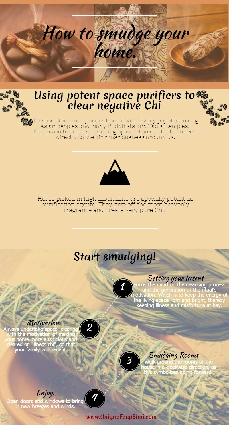 feng shui smudging