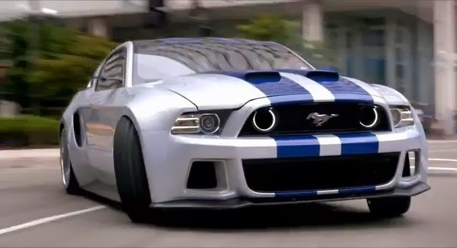 "Barrett-Jackson Offers Chance to Bid on ""Need for Speed"" Mustang"