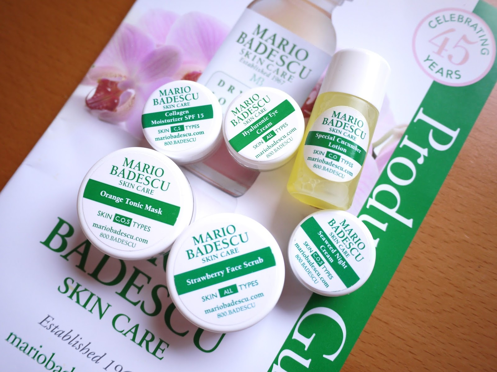 mario badescu first impression review strawberry face scrub seaweed night cream hyaluronic eye cream speical cucumber lotion orange tonic mask