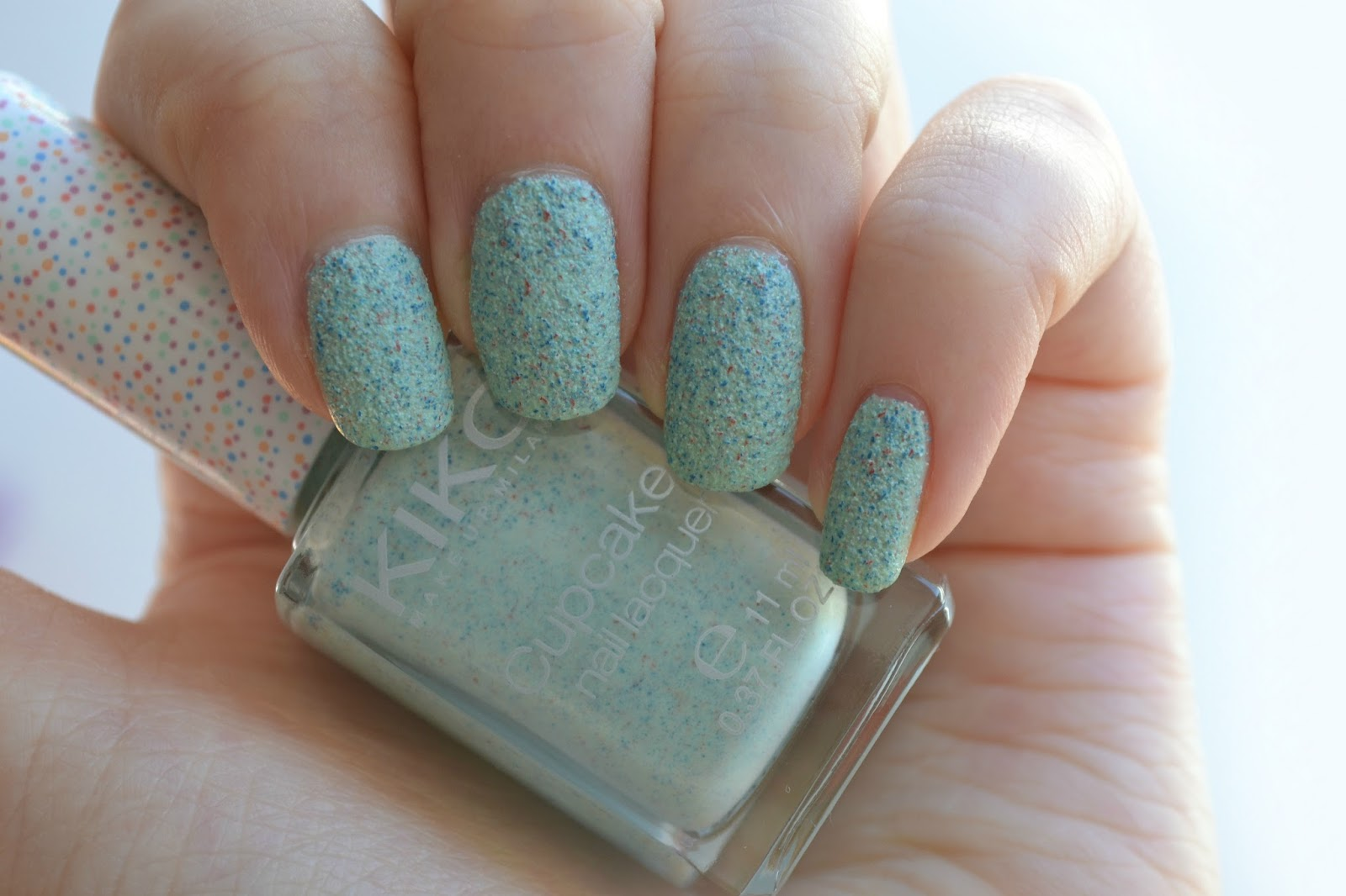 Imogen\'s Typewriter.: Beauty Review: KIKO Cupcake Nail Lacquer in Mint