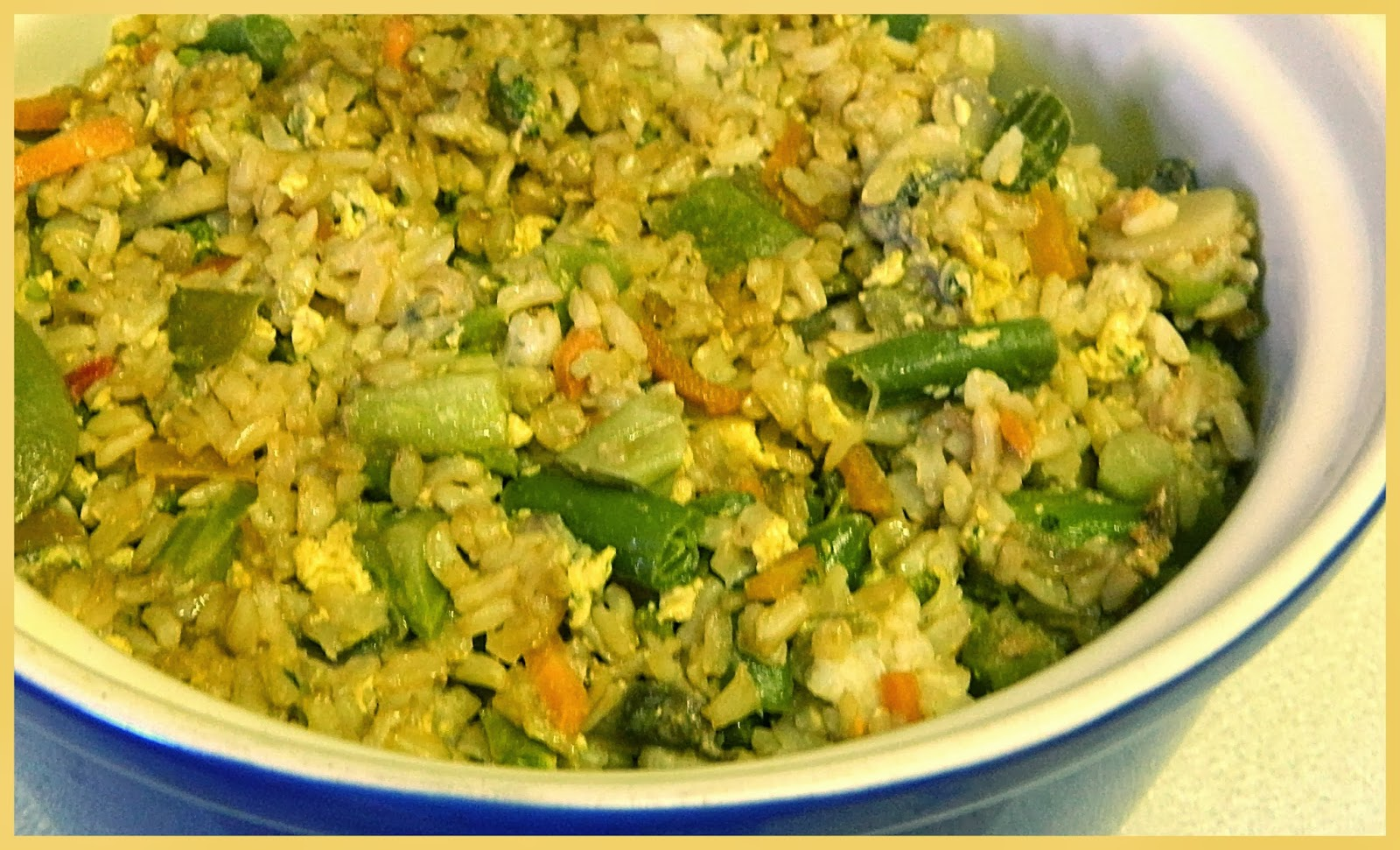 BIZZY BAKES: Vegetable Fried Rice