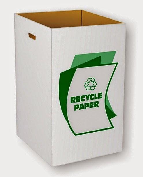 Kitar Semula kertas Di Tempat Kerja Dan Pejabat