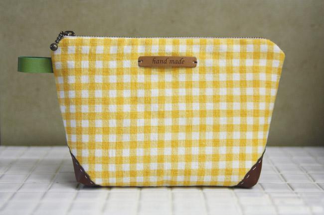 Zippered Handbag Cosmetic Bag Tutorial