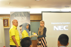 Style Workshop Wawa Idris bersama Kelab Blogger Ben Ashaari
