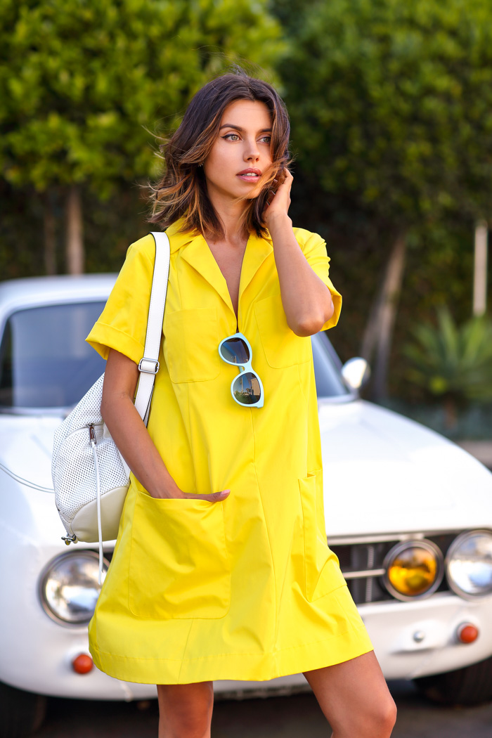 VivaLuxury yellow dress, Annabelle Fleur yellow dress