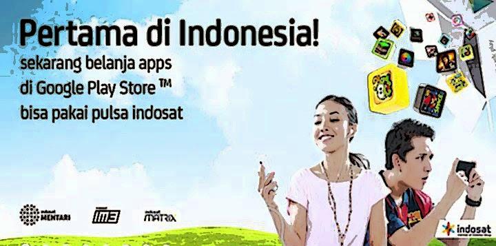beli aplikasi,beli aplikasi pake pulsa,pulsa kepotong,beli aplikasi di playstore,operator indosat,
