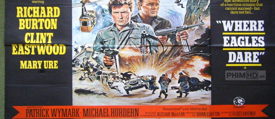 Đột Kích Tổ Đại Bàng - Where Eagles Dare - 1968