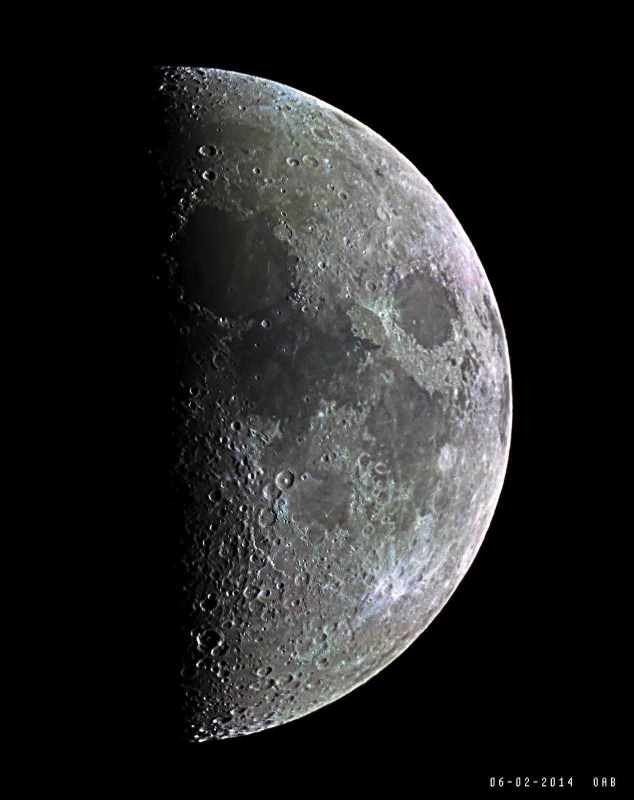 Observatorio Astronómico de Berja: La Luna hoy.