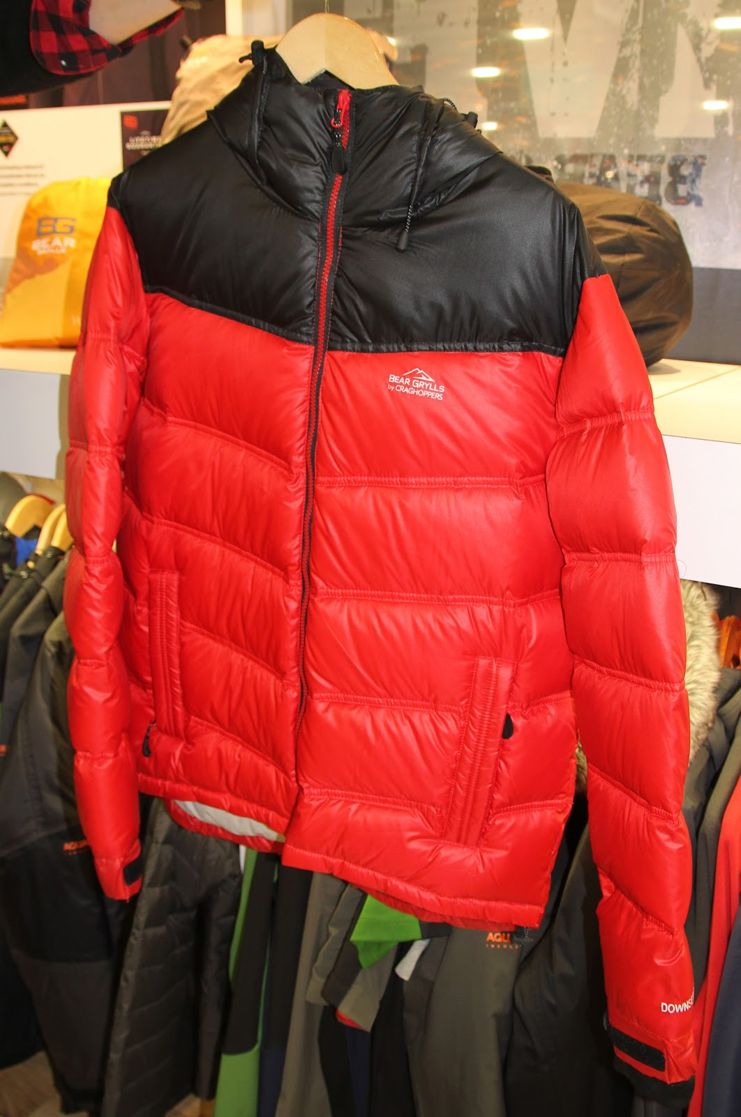 Bear Artic Down Jacket-on sale now-insulated down puffer-slightly extended  hem, windproof ripstop, inner stormcuff+thumbholes, active fit, grown-on  hood w/ ...