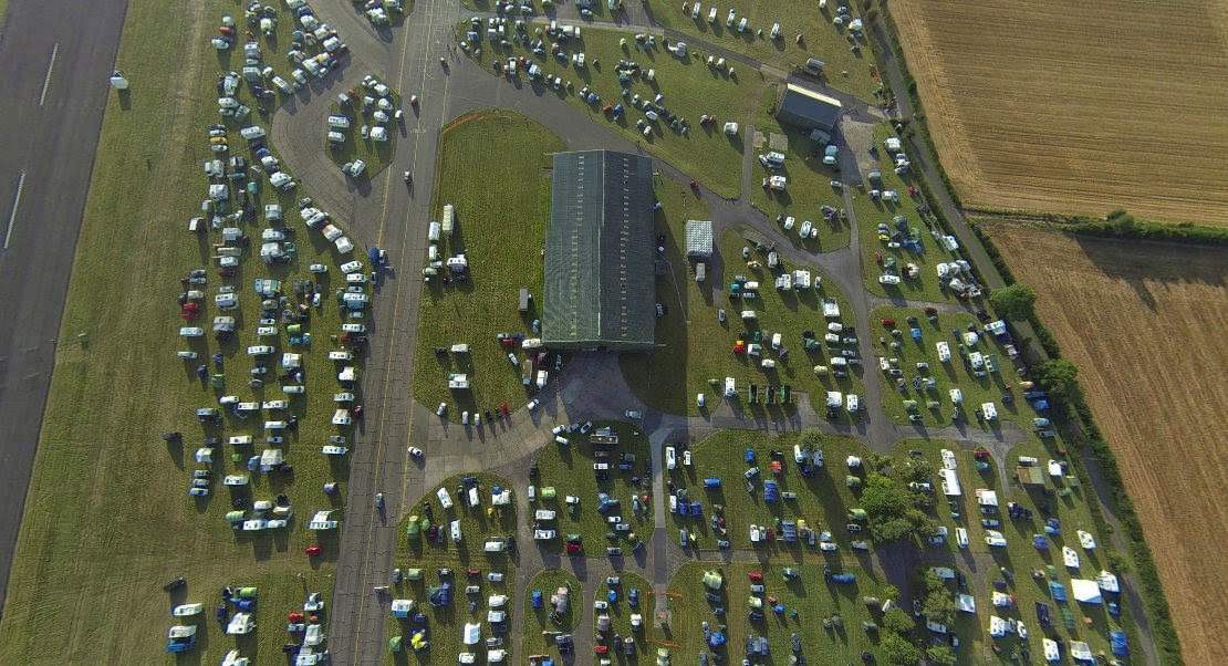 BMFA Nats 2014 from the Air
