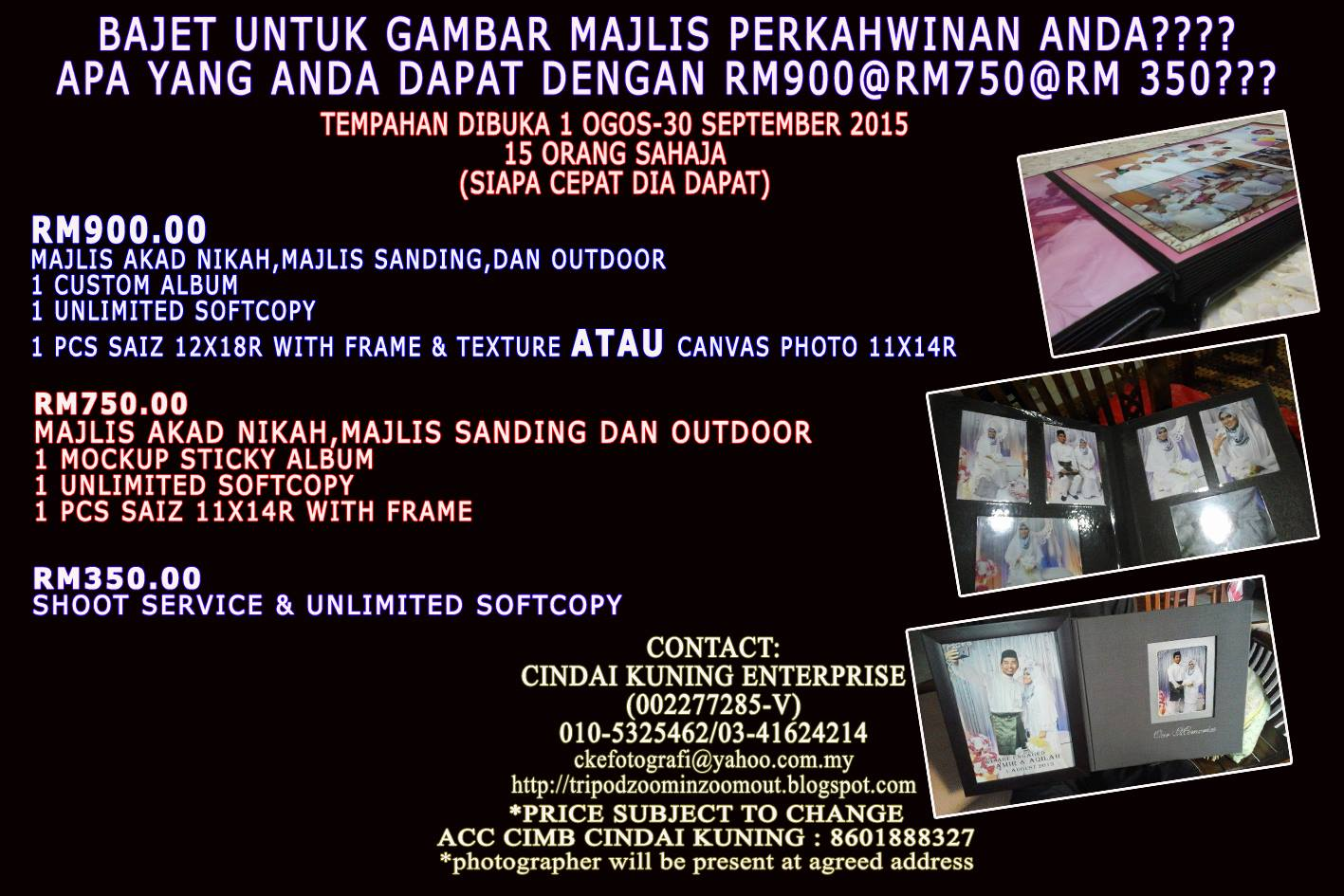 Pakej fotografi murah 2015 34