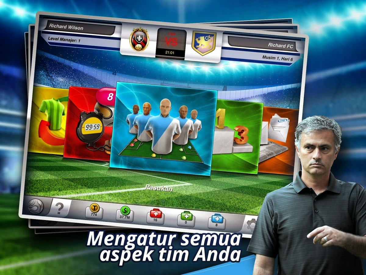 Download Games Android Top Eleven Manager Football Terbaru Asik - 1