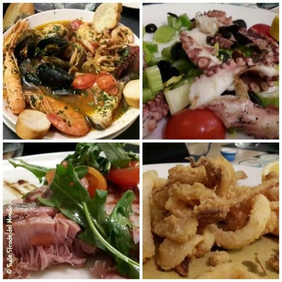 Seafood quattro alternative a scelta