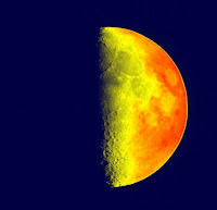 Pseudocolored Moon with OpenCV