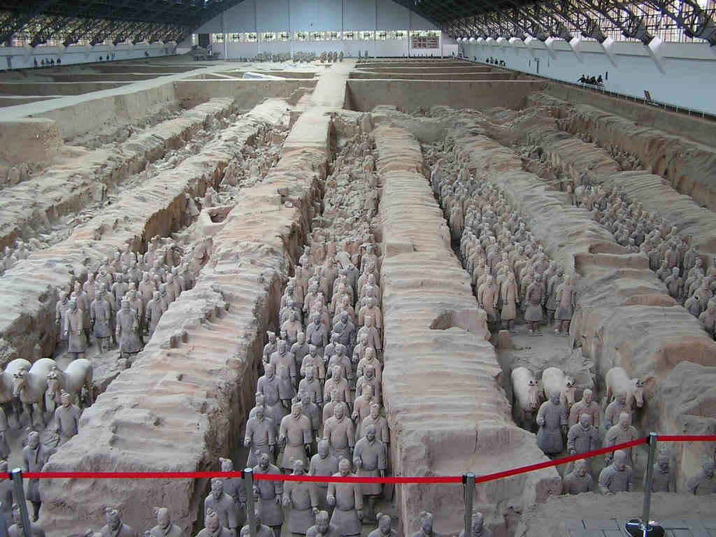 DeePa NiSHaL... Terracotta Army Qin Dynasty 210 Bc Art