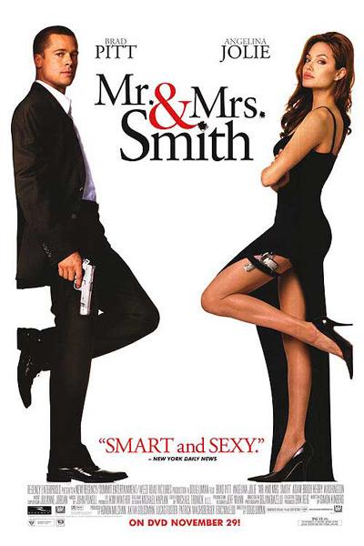 ดูหนังออนไลน์ [หนัง HD] [มาสเตอร์] Mr. & Mrs. Smith นายและนางคู่พิฆาต [HD] - ดูหนังออนไลน์ HD Stock