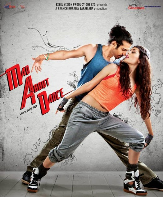 M.A.D. Mad About Dance - Movie  Poster - Saahil Prem, Amrit Maghera