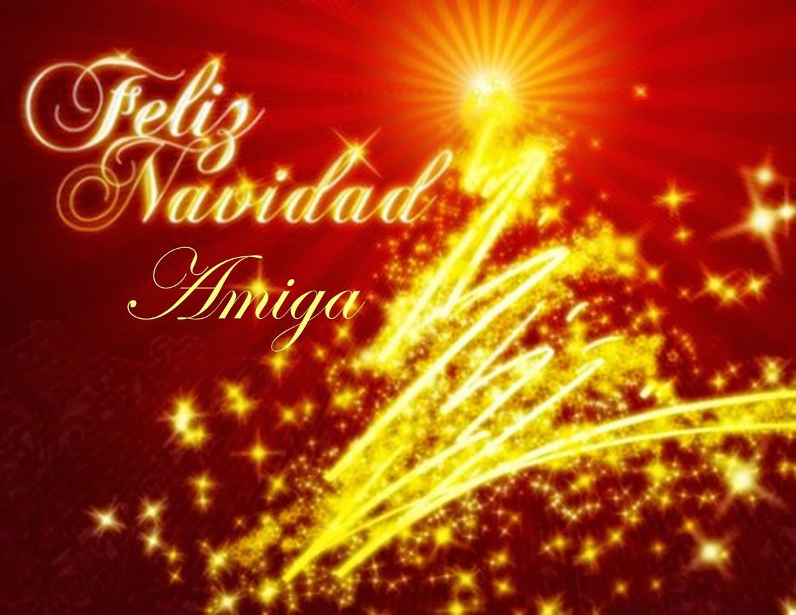 Frases De Navidad: Feliz Navidad Amiga