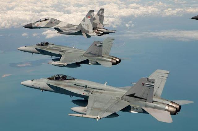 Pendapat Penerbang Sukhoi TNI AU tentang Super Hornet Australia