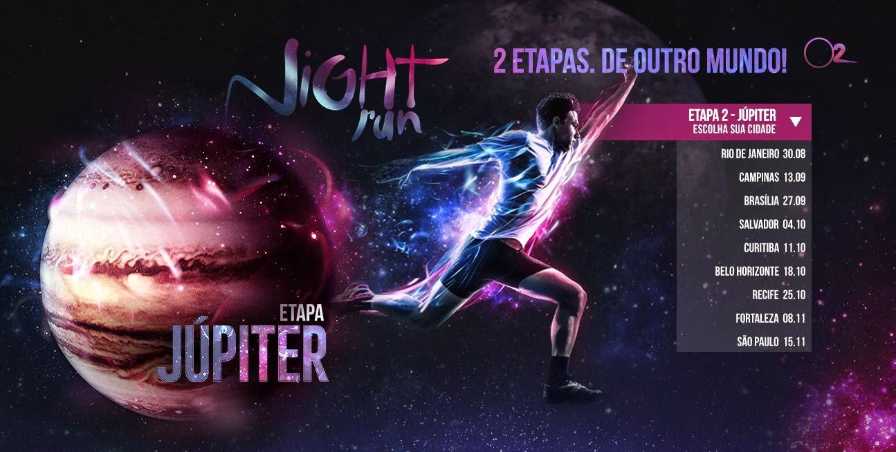 Print screen descarado da Night Run Etapa Júpiter 2014
