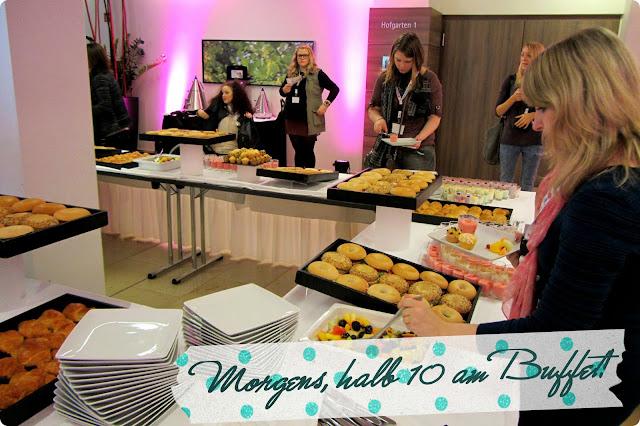 dm-Marken Camp Beauty Barcamp 2013 - Frühstücksbuffet