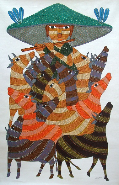 Gond Tribal Paintings An Art Of India Photography In A Blog