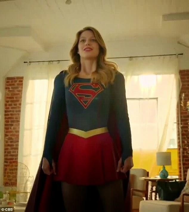 sneak peek supergirl tv series new footage. Black Bedroom Furniture Sets. Home Design Ideas