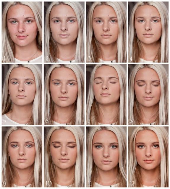 Повседневные макияжи в школу