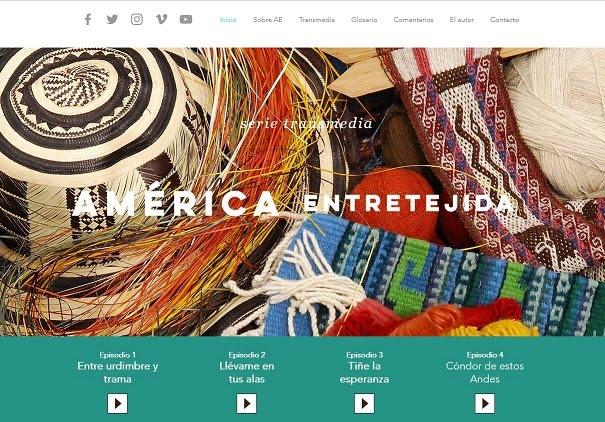 Visite la página transmedia de América Entretejida