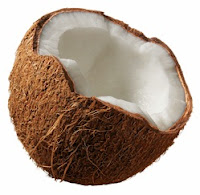 melembabkan rambut dengan santan kelapa