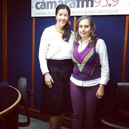 Con la Coach Blanca Sierra