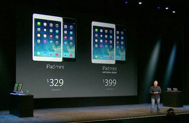 Apple announced with new technology Retina Display iPad Mini in November for $399