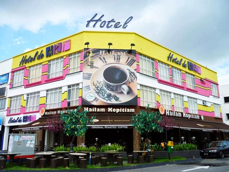 hotel de art, shah alam, art themed hotel