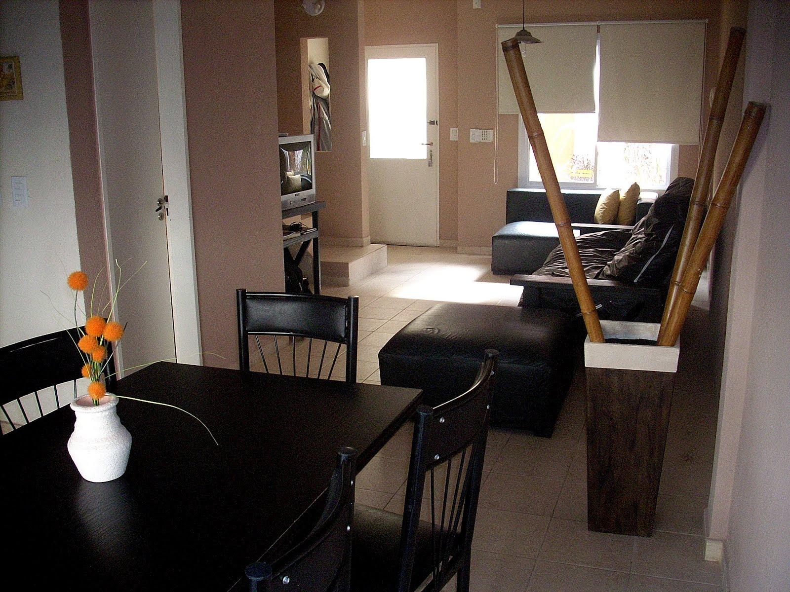 Duplex en pinamar planta baja entrada living toillette for Decoracion cocina integrada al living comedor