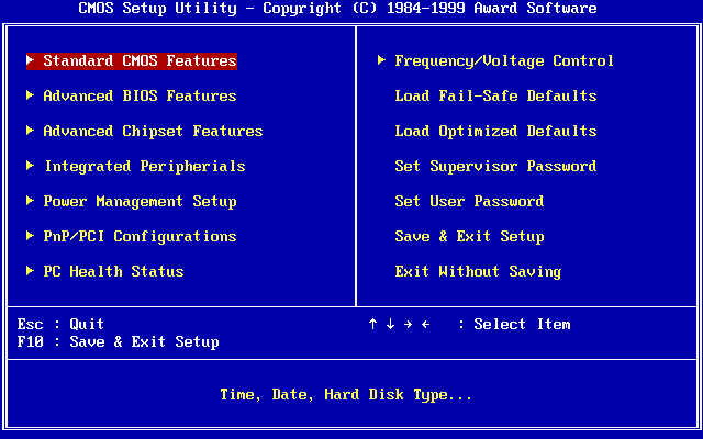Melakukan Instalasi SO Dasar : Mengatur dan Memahami BIOS dalam Komputer