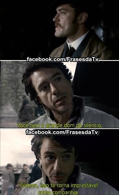 Frase de Sherlock Holmes