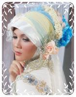 Model+jilbab+pengantin+(3) Gambar Contoh Model Jilbab Pengantin Muslimah 2014 Update