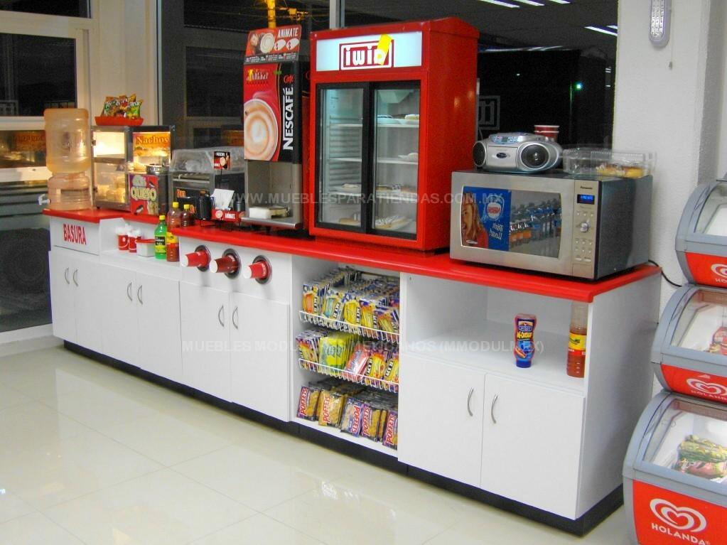 Mostradores de tiendas vitrinas para farmacias muebles for Muebles para supermercado
