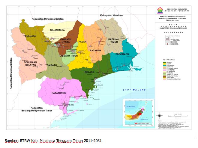 Silian Raya News Sejarah Minahasa Tenggara