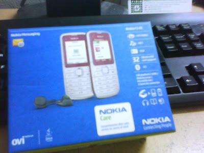 Telefon Baru Untuk Emak