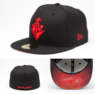 Battleship Aliens Crew Series 59Fifty Fitted Hat by New Era