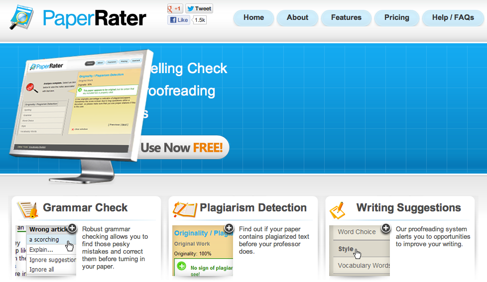 sites to check paper for plagiarism