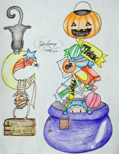 挂饰设计Halloween