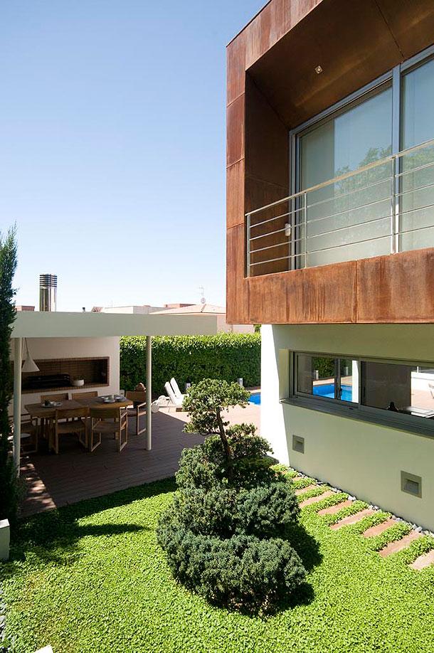 Marzua acogedora vivienda unifamiliar en dos plantas por for Casa vivienda jardin pdf