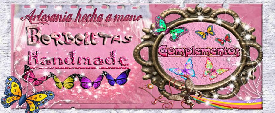 borboletas handmade