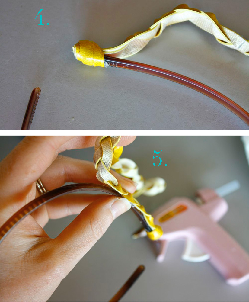 Как сделать ободок своими руками из бусин и бисера