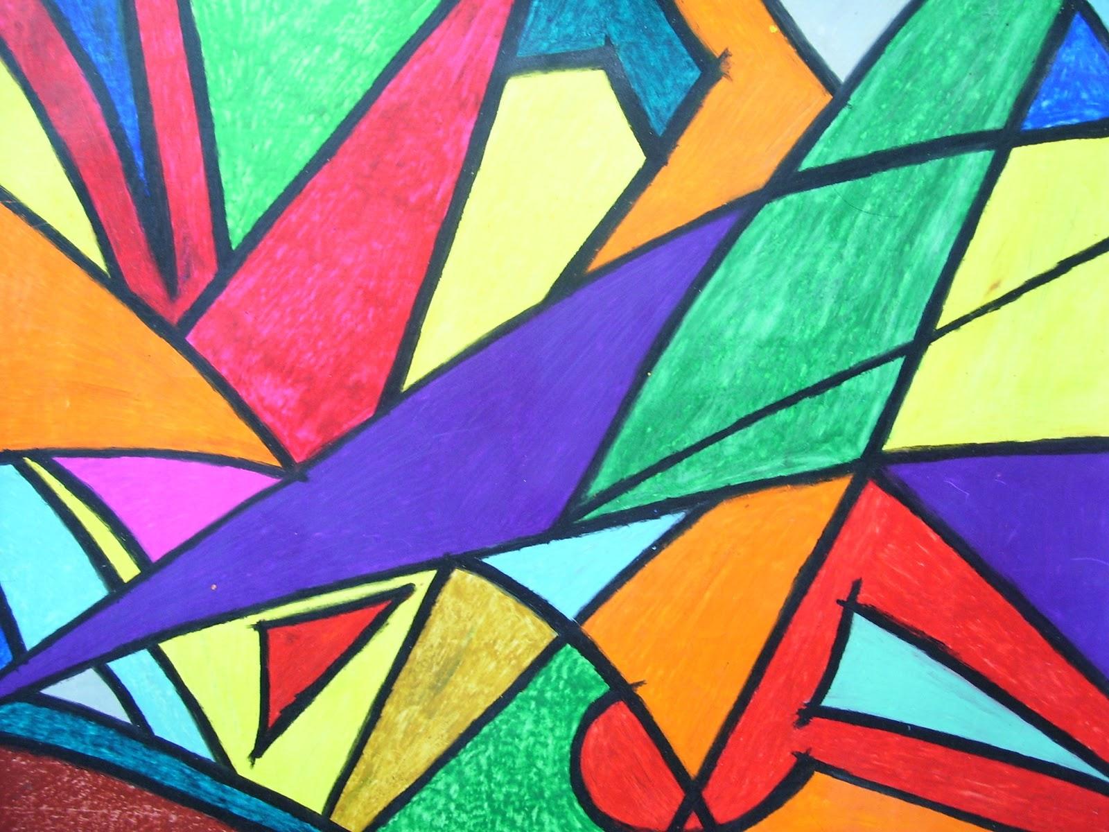 Cuadros abstractos paisajes arquitectura y eroticos for Imagenes de cuadros abstractos geometricos
