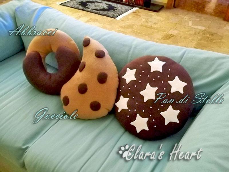Clara 39 s heart cucito creativo in stile tilda regali for Cuscini dipinti