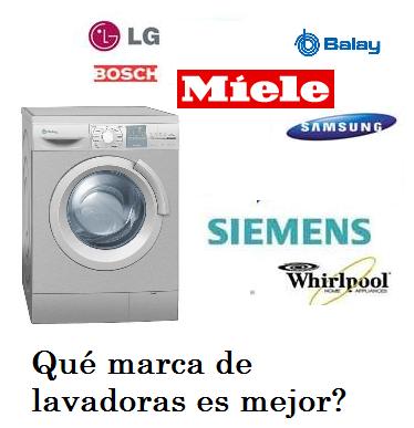 Qu marca de lavadoras es mejor qu marca es mejor - Lavadoras mejores marcas ...