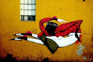 grafite em S.Paulo fotografado por Silvio Crisóstomo